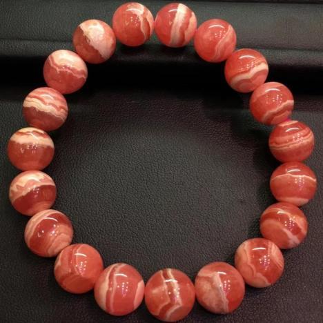 红纹石手链,11mm,爱情宝石图片