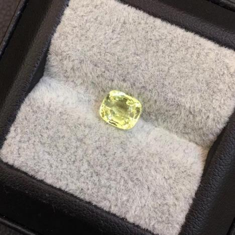 天然金绿宝石裸石,主石1.84克拉图片