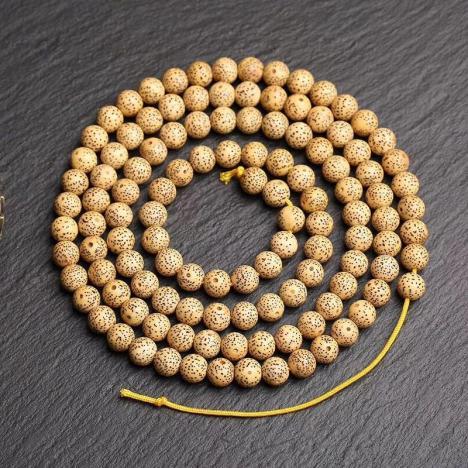 星月菩提,高密正月星月菩提手链/项链,10MM图片