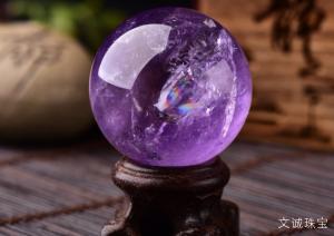 天然紫晶莫氏硬度,紫水晶的硬度是多少呢
