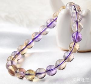 佩戴紫黄晶的功效作用好处坏处是什么,紫黄水晶作用介绍