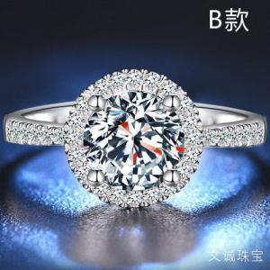 如何肉眼鉴别区分莫桑钻和天然钻石