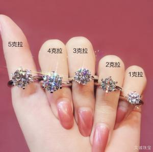 一克拉钻石的尺寸是多大?