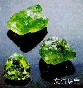橄榄石的晶系、色散值、光学性质,橄榄石鉴定参数