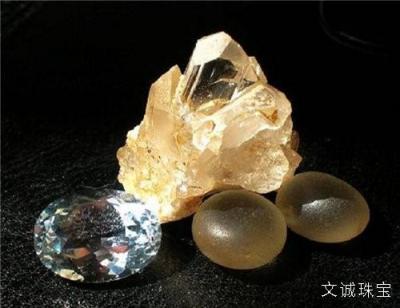 黄玉托帕石的优化处理方法,热处理,辐照,扩散
