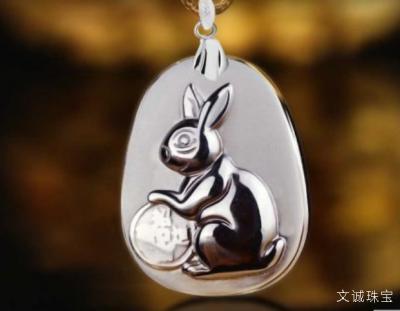 生肖属兔的幸运石水晶守护石是什么?属兔的人戴什么水晶饰品合适