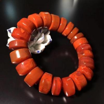 天然南红玛瑙手链价格多少钱一串,2020年南红玛瑙手串市场价多少