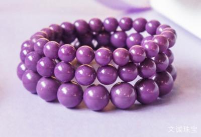 紫云母手链戴哪只手合适,佩戴紫云母的禁忌有哪些。