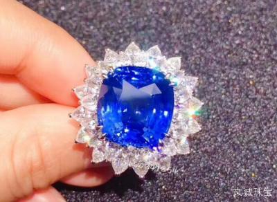 蓝宝石与坦桑石、尖晶石、堇青石、蓝锥矿的区别和真假鉴定