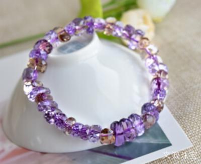 紫黄晶的功效与作用是什么,紫黄晶的鉴别及消磁方法