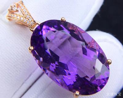 紫水晶的功效与作用,紫水晶真假鉴别方法