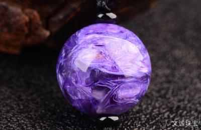 怎样鉴别紫龙晶真假,佩戴紫龙晶的作用与禁忌