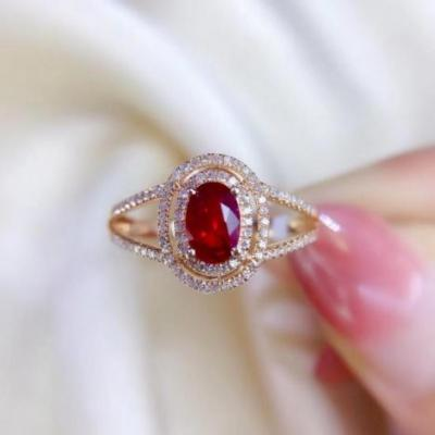 红宝石戒指戒面价格多少钱一克拉,2020年缅甸鸽血红宝石价格