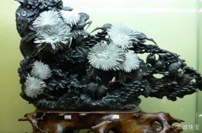 珊瑚玉与菊花石是同一种东西吗?它们有什么区别?