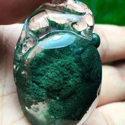 天然绿幽灵水晶多少钱一克,影响天然绿幽灵水晶价格的因素