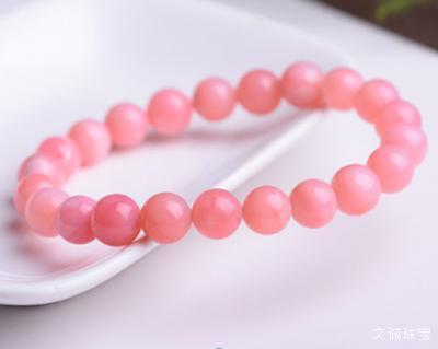 佩戴粉色蛋白石有什么好处?粉欧泊的功效和作用是什么