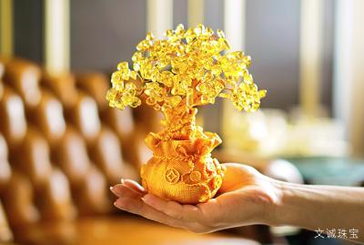 水晶招财树的摆放,水晶招财树功效