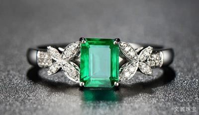 如何选购祖母绿宝石戒指和项链,祖母绿与哪些宝石相似?