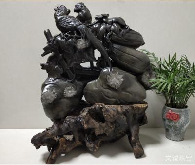 菊花石(成因,产地,特点,鉴别,种类)