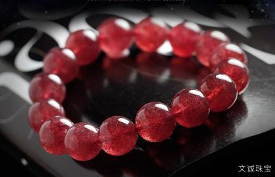 天然草莓晶吊坠价格一般多少钱,2020年草莓晶最新市场价。