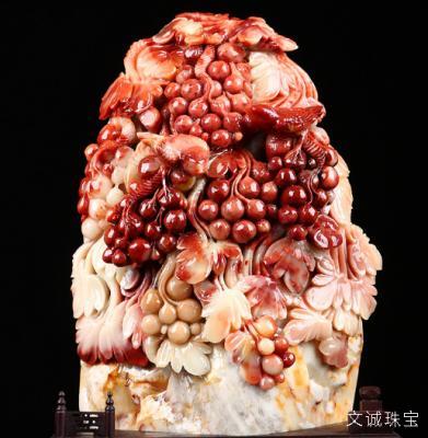 寿山石的鉴定参数,种类、颜色、保养、鉴别、产地、图片