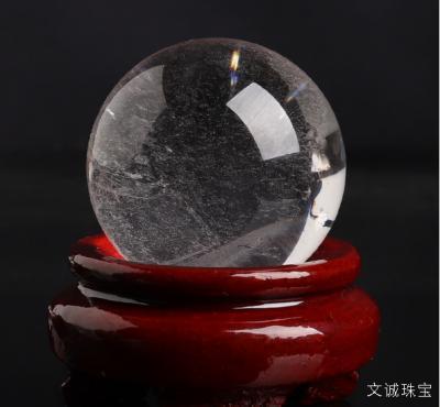 天然白水晶球的价格是多少,白水晶球的寓意