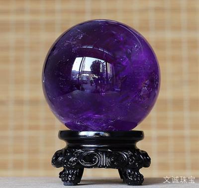 天然紫水晶球的价格是多少,紫水晶球的寓意