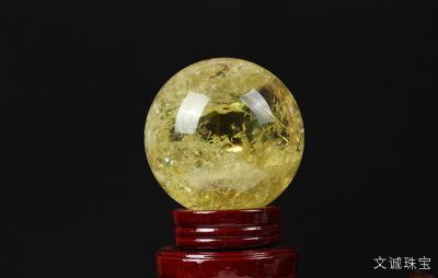 黄水晶球的价格是多少,黄水晶球的寓意是什么?