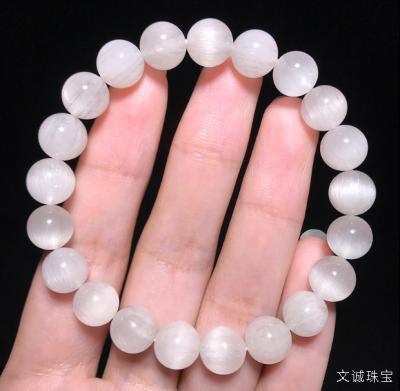 天然银发晶手链多少钱一串合理,2020年银钛晶银发晶手串市场价