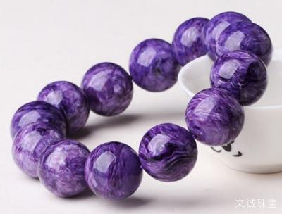 天然紫龙晶手链价格多少钱一串合理,2020年紫龙晶手串市场价