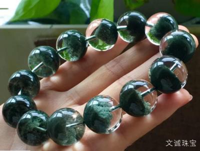 天然绿幽灵水晶手链价格多少钱一串合理,2020年绿幽灵手串市场价