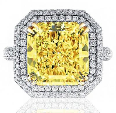 一克拉黄钻石多少钱,2020年天然黄钻石一般什么价格