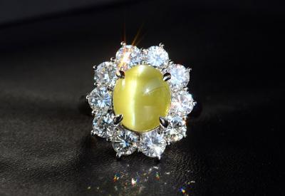 什么是金绿猫眼宝石?金绿猫眼宝石的分级