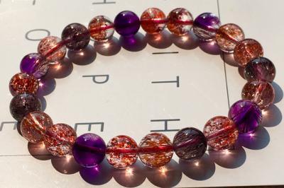 三轮骨干紫发晶真假鉴别,超七水晶紫发晶必知!