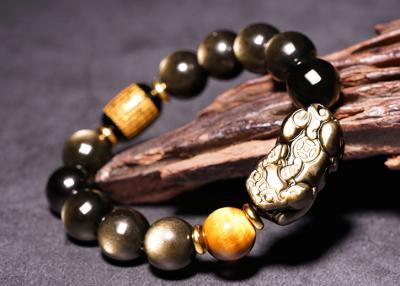 天然金曜石是吸纳性水晶还是投射性,金曜石手链戴哪只手比较合适?