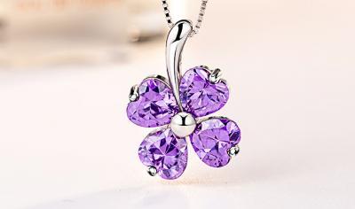 天然紫水晶和紫牙乌石榴石的区别,有什么不一样不同点?