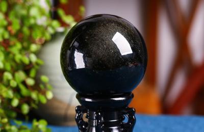 天然金曜石球的真假鉴别方法妙招,金曜石水晶球如何辨别真假?