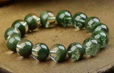 天然绿幽灵水晶真假鉴别方法,真假怎么看!