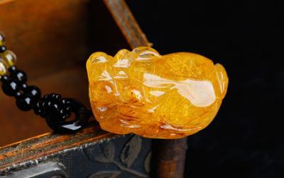 天然金发晶品质好坏怎么看,怎么挑选鉴别金发晶的质量?