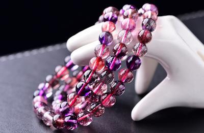 天然紫发晶品质好坏怎么看,怎么挑选鉴别紫发晶的质量?