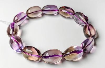 天然紫黄晶品质好坏怎么看,怎么挑选鉴别紫黄晶的质量?