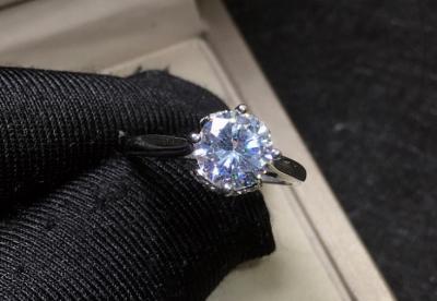 合成碳硅石价格多少钱一克拉,只有钻石百分之一