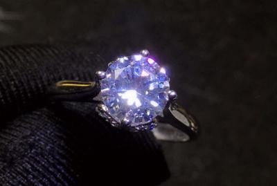 合成碳硅石与锆石的区别,合成锆石及钻石有什么不一样