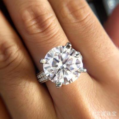 十克拉八克拉莫桑钻价格多少钱,八克拉十克拉莫桑钻石批发价