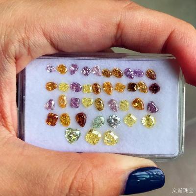 天然彩钻品质好坏怎么看,怎么挑选鉴别彩钻的质量?