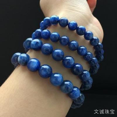天然蓝晶石介绍,蓝晶石的真假鉴别方法