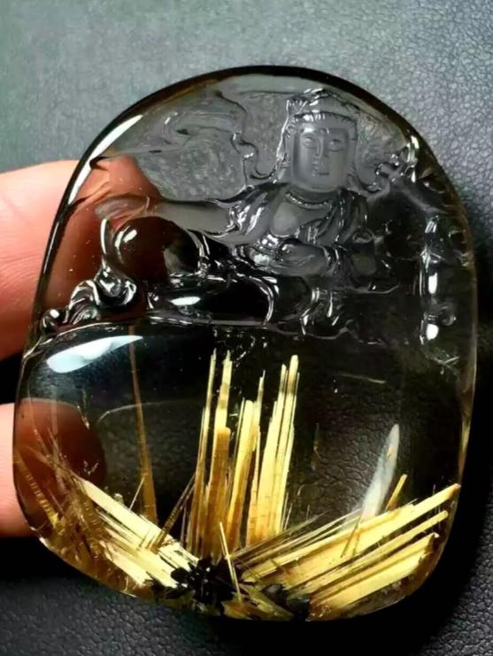 天然钛晶价格_一克钛晶多少钱,2020年天然钛晶一般什么价格_文诚珠宝!